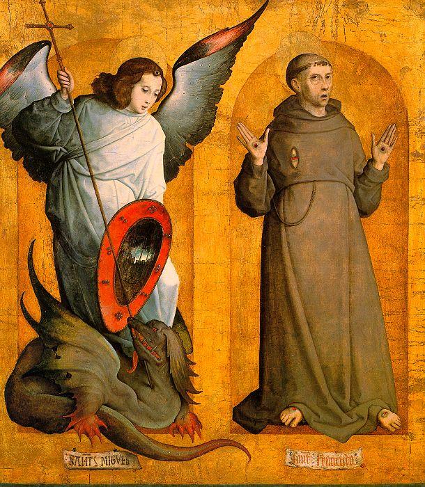 Juan_de_Flandes_-_Saints_Michael_and_Francis_-_WGA12043