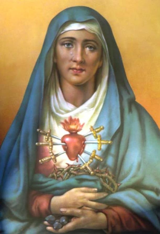 As dores atuais de Nossa Senhora